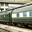 Luxury express train — Stock Photo #35984253