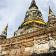 Ayutthay,Wat Yai Chai Mongkol. — Stock Photo #37165831