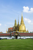 Wat phra kaeo grand palace bangkok thailand — Stock Photo