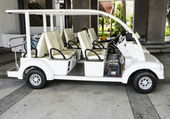 Golf cart — Stock Photo