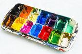 Paleta de aquarela — Foto Stock