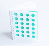 Spiral notebook — Stock Photo