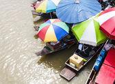 Floating Market. — Stock Photo