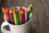 μολύβια χρώματος — Φωτογραφία Αρχείου