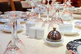 Wedding table — Stock fotografie