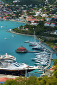 St. Thomas Yacht Harbor — Stock Photo