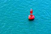 Red Buoy — Foto Stock