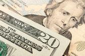 20 US Dollar — Stok fotoğraf