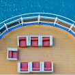 Stock Photo: Cruise ship deck