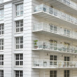 White apartment building — Stock Photo