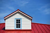 Roof detail house — Stock Photo