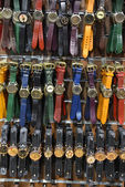 Group of unisex watches — Foto Stock