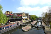 Camden Lock in London, United Kingdom — Stock Photo