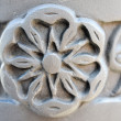 Stock Photo: Carved stone detail
