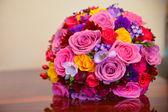 Wedding godmother bouquet — Stock Photo