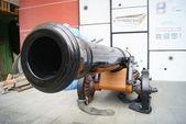 Модель древней артиллерии в Китай, Шэньчжэнь — Стоковое фото