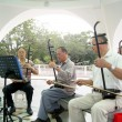 Shenzhen china: pull the erhu old — 图库照片
