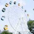 Shenzhen china: the park ferris wheel - Stock Photo