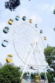 Shenzhen china: the park ferris wheel — Stock Photo