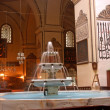 Bursa Grand Mosque fountain in — Stock Photo #23308674