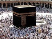 Makkah Kaaba Hajj Muslims — Stock Photo
