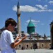 Mevlana museum mosque in Konya, Turkey — Stock Photo