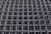 Deformed reinforcing steel bars — Stock Photo