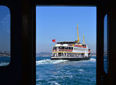 Ferry Istanbul, Turkey — Stock Photo