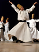 Whirling dervish — Stock Photo