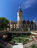 Orangery garden of castle Schwerin (Germany) — Stock Photo