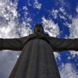 Cristo-Rei, Christ the King statue in Lisbon — Stock Photo