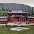 Temple at Oahu (Hawaii) - Panorama — 图库照片