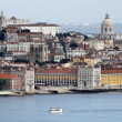 Stock Photo: View of Alfamand Graca, Lisbon - Portugal