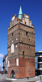 The medieval gate Kröpeliner Tor to the Hanseatic city of Rostock, Germany — Stock Photo