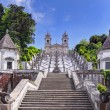 Stock Photo: Stairway to church of Bom Jesus do Monte in Braga, Portugal
