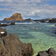 Stock Photo: Natural pool in Porto Moniz (Madeira, Portugal)