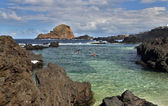 Natural pool in Porto Moniz (Madeira, Portugal) — Stockfoto