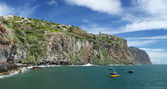 Coastline near Ribeira Brava Madeira, Portugal — Stock Photo