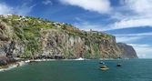 Coastline near Ribeira Brava Madeira, Portugal — Stok fotoğraf
