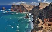 Northern coastline of Ponta de Sao Lourenco Madeira, HDR-image — Stock Photo