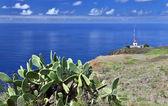 Lighthouse of Ponta do Pargo - Madeira, Portugal — Stock Photo