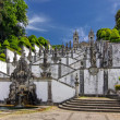 Stock Photo: Stairs of Church Bom Jesus do Monte in Braga, Portugal