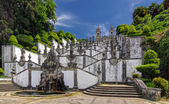 Stairs of Church Bom Jesus do Monte in Braga, Portugal — Stock fotografie