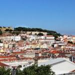 Lisbon panorama, Portugal — Stock Photo