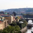 Stock Photo: Prague bridges