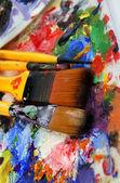 Art palet — Stockfoto
