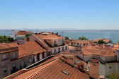 Lisbon roofs, Portugal — Stock Photo
