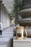 Karlovy Vary mug for water — Stock Photo