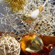 Christmas beautiful decorations — Stock Photo
