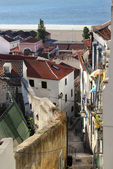 Rue de lisbonne et maisons typique alfama — Photo